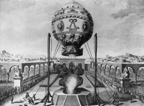 Montgolfiere 1784