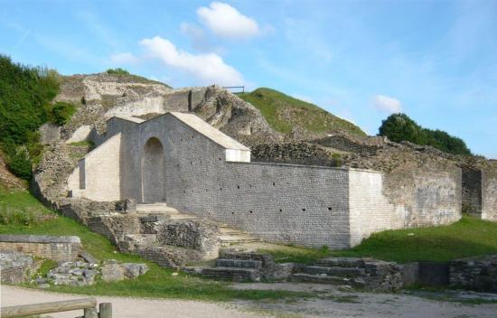 Le théâtre gallo-romain de Mandeure