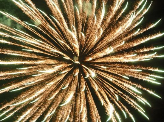 Feux d'artifice à Carpignano Sesia - Italie - Juillet 2008
