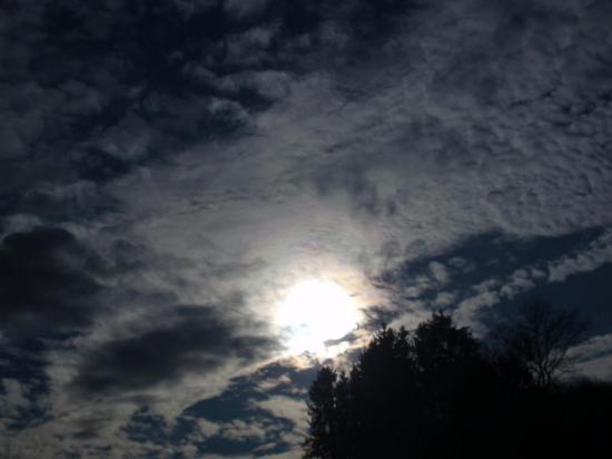 Ciel de traîne à Maîche - Doubs - Juin 2008