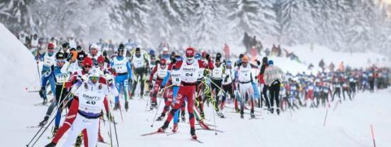 Transjurassienne 2015 course ski ski de fond